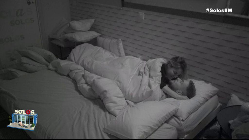 El tierno reencuentro de Marta y Tony en su primera noche juntos