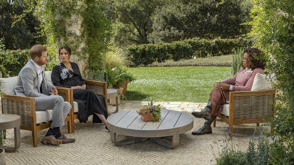 Oprah ha sido la primera en entrevistar a los duques de Sussex