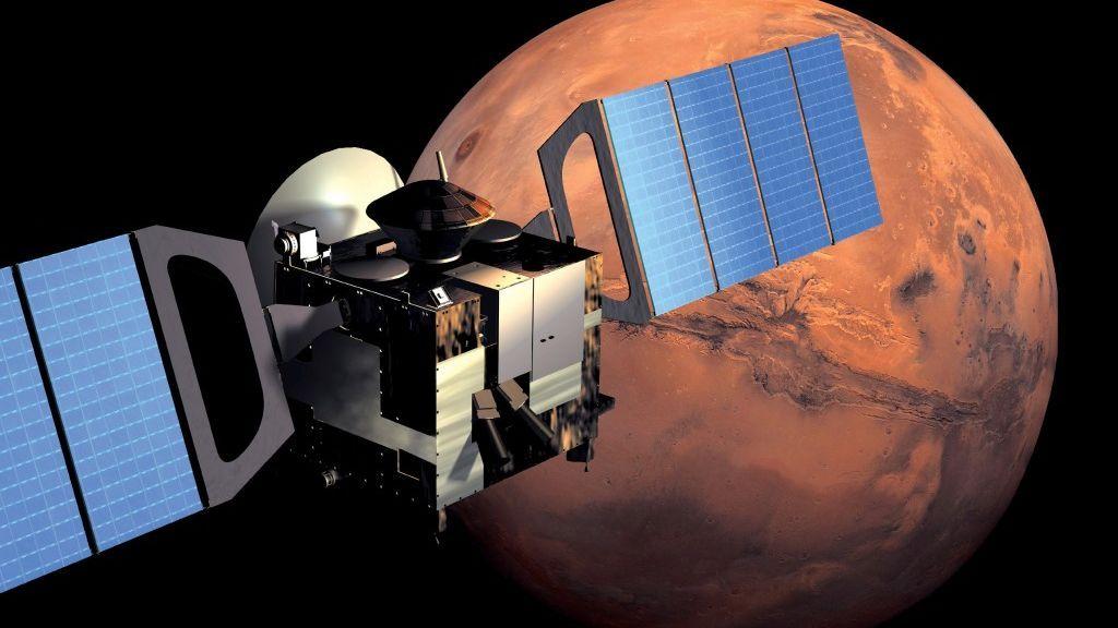 Investigadores vascos están estudiando la nube que se ha formado sobre un volcán en Marte
