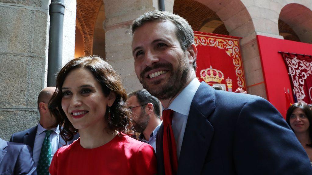 """Casado acordó con Ayuso responder a la """"traición"""" de Arrimadas en Murcia dinamitando Madrid"""