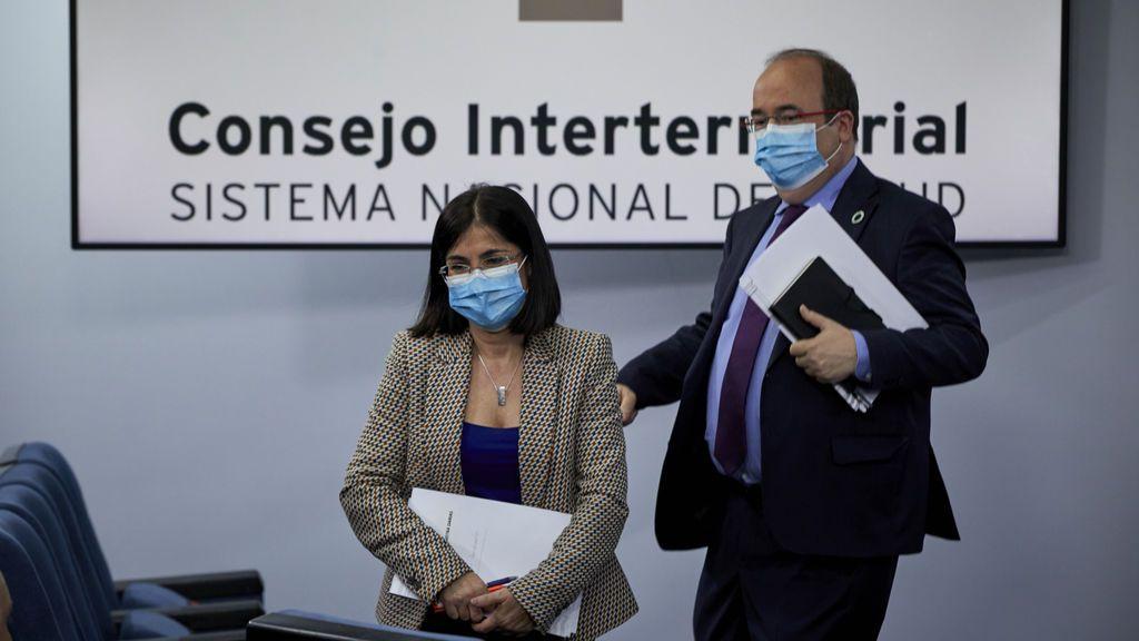 En directo: Carolina Darias y Miquel Iceta detallan el acuerdo con las CC.AA para Semana Santa y San José