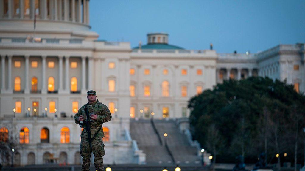Guardia Nacional de EEUU permanecerá en el Capitolio hasta el 23 de mayo