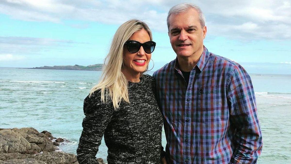 Ramón García y su mujer Patricia Cerezo: 24 años de matrimonio, dos hijas y una dura pérdida familiar