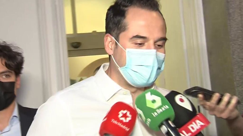 """Ignacio Aguado responde a Isabel Díaz Ayuso: """"Si me cesa para acabar con Ciudadanos, se equivoca"""""""