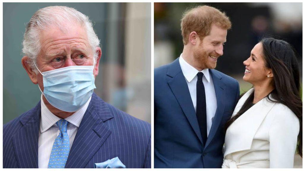 """El príncipe Carlos evita pronunciarse sobre la entrevista de Harry y Meghan: la Casa Real se muestra """"preocupada"""""""