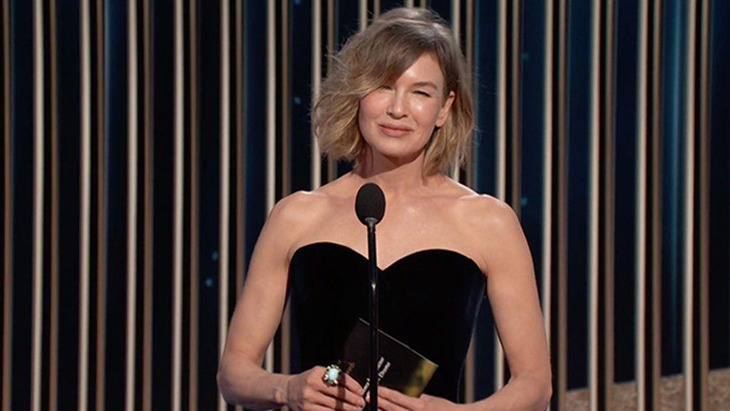 Corte de pelo bob, estos son los escotes que mejor combinan con el look. Así lo lució Renée Zellweger en los Globos de Oro 2021