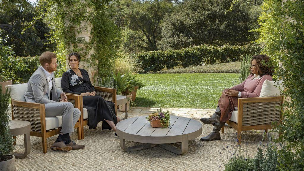 Entrevista e Oprah a los duques de Sussex