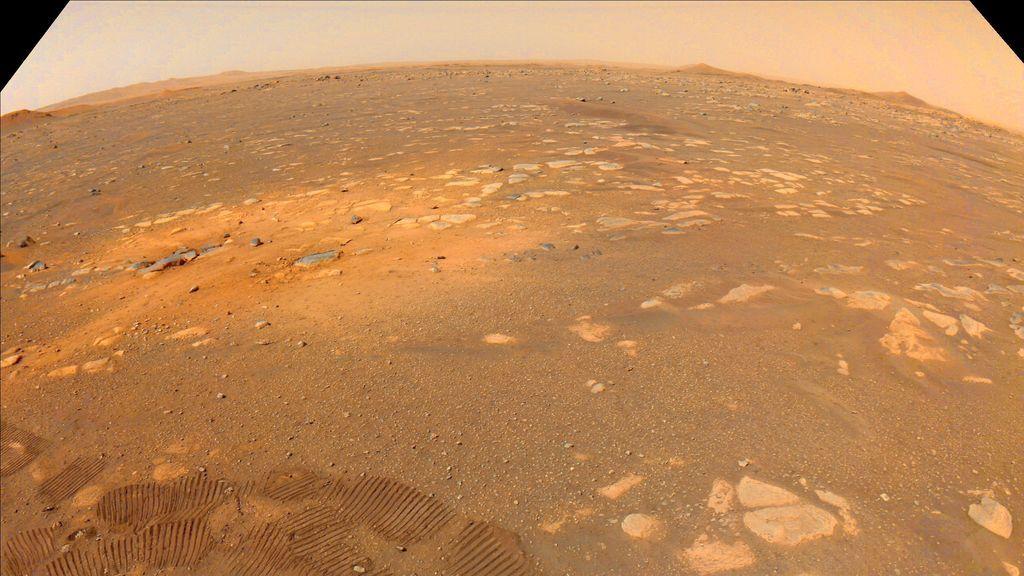 Así suena Marte: el primer audio del 'Perseverance'