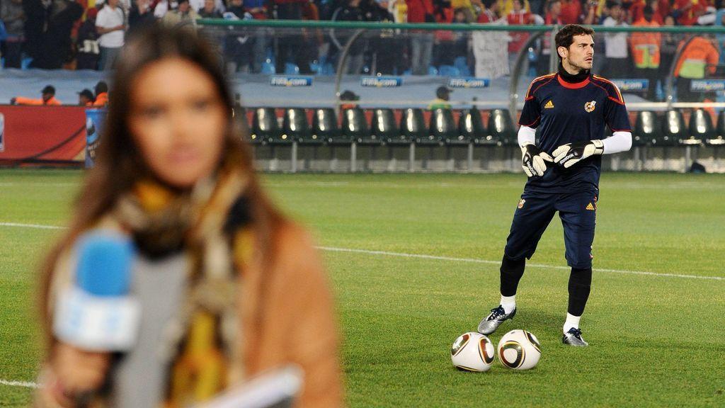 Su relación comenzó en 2010, cuando Carbonero cubría los éxitos de La Roja