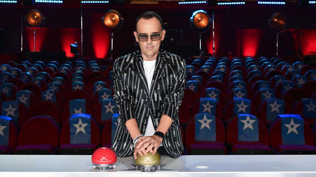 Risto Mejide, con los botones de Got Talent