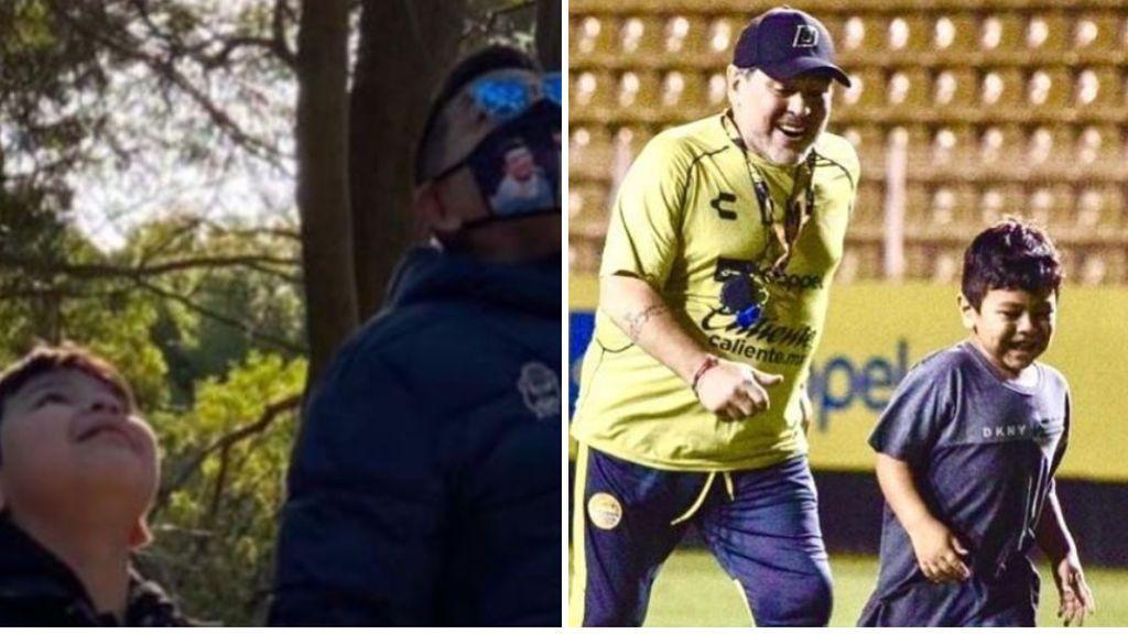 El emotivo ruego de Dieguito Maradona tras los rumores de que su padre no murió por causas naturales
