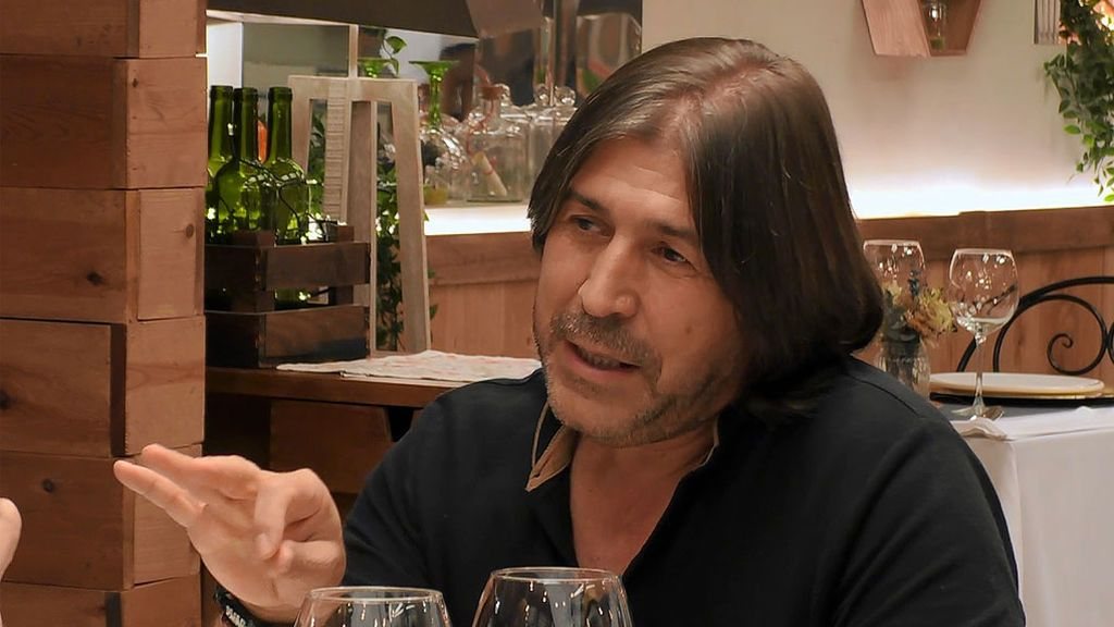 Agustín en el programa 'First Dates'