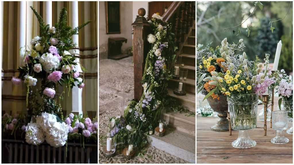 Las flores, el elemento decorativo que será indispensable en tu boda: 5 opciones perfectas para decorar tu altar en primavera.