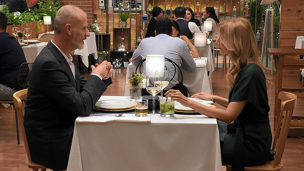 Yolanda y Julián en el programa First Dates