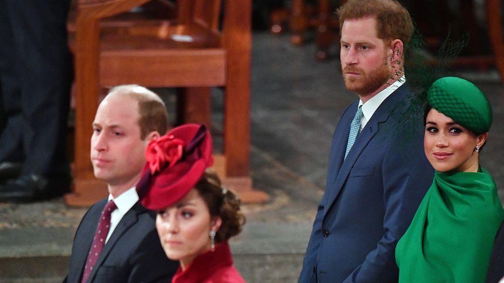 """El príncipe Guillermo responde a su hermano Harry tras su entrevista con Meghan: """"No somos para nada una familia racista"""""""