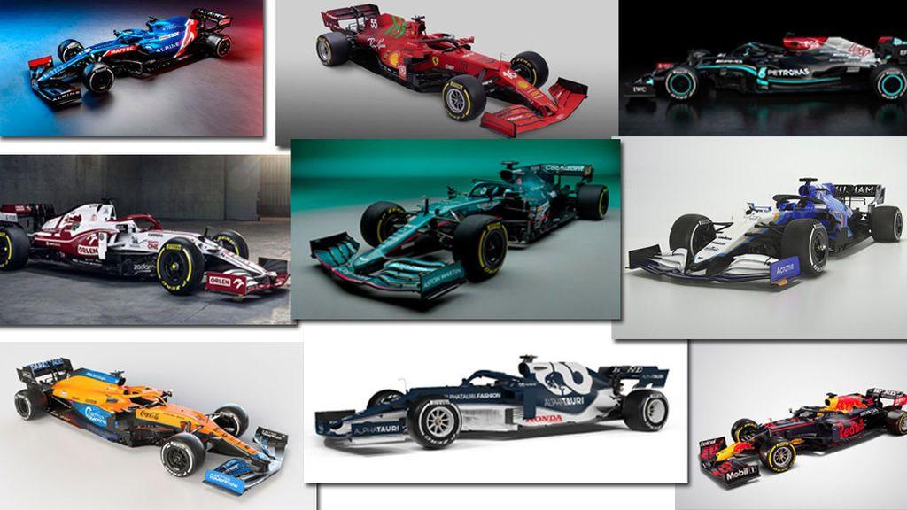 Del Ferrari de Carlos Sainz al Alpine de Fernando Alonso: los nuevos monoplazas de Fórmula 1 para 2021