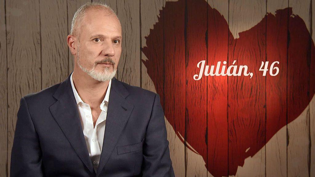 Julián en el programa First Dates