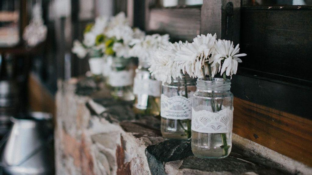 También, sempiterna paniculata será una opción romántica y delicada.