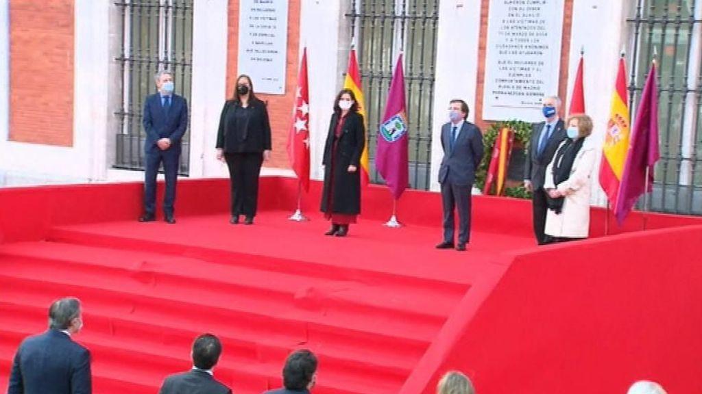 En directo: Ayuso y Almeida presiden el homenaje a las víctimas del 11M