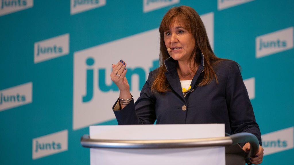 Laura Borràs (Junts) presidirá el Parlament de Cataluña en la nueva legislatura