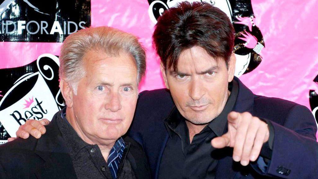 El padre de Charlie Sheen también ha sido un reconocido actor.