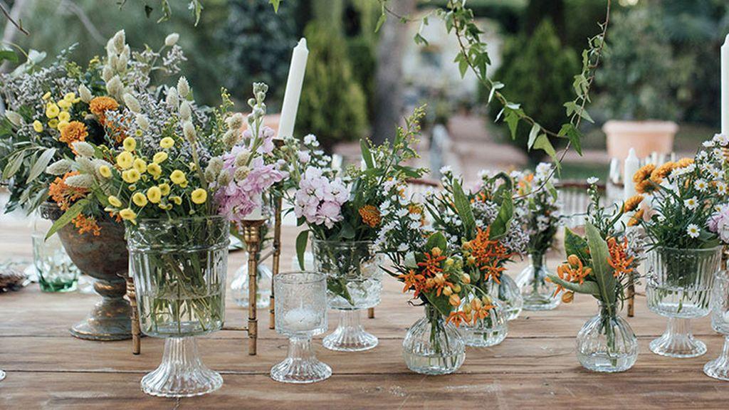 Hacer una buena elección de las flores para la boda será indispensable.