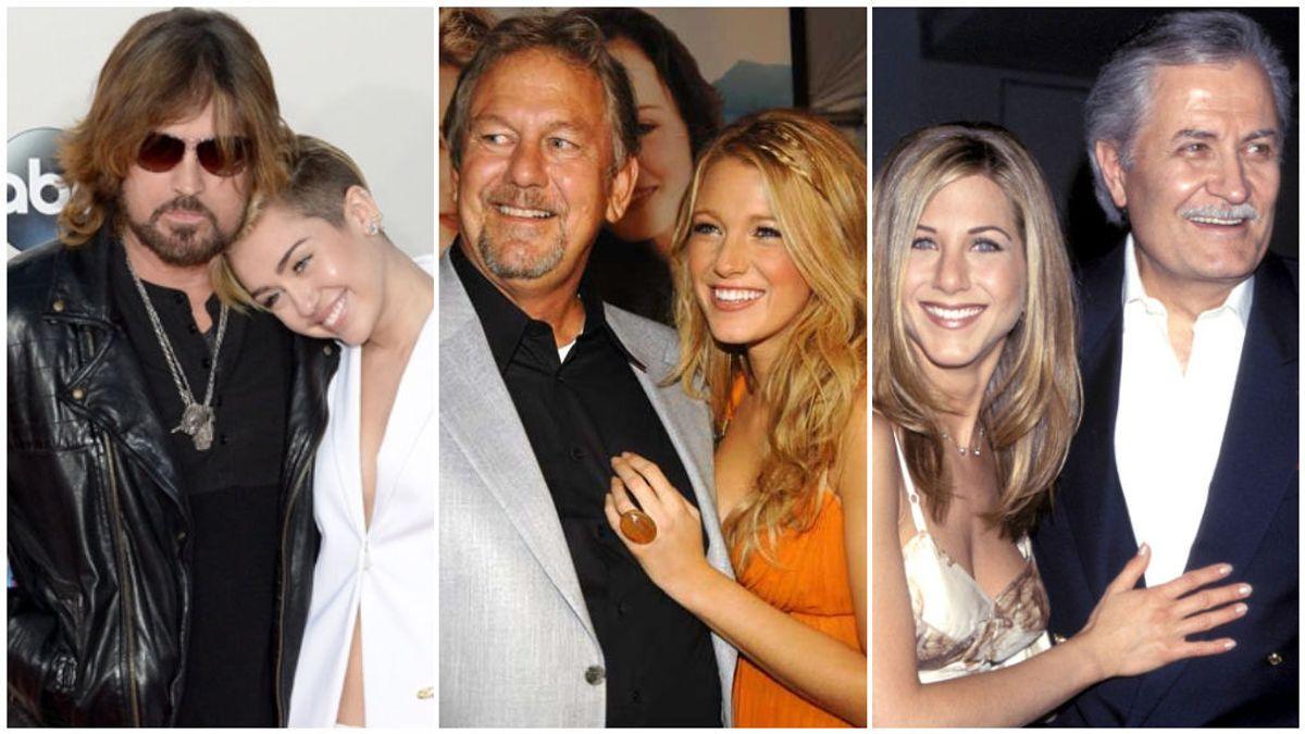 Miley Cyrus, Blake Lively, Jennifer Aniston y otros hijos de actores y actrices de Hollywood que triunfaron más que sus padres.