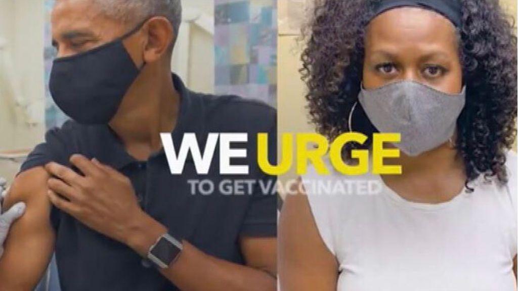 Obama, Clinton, Bush y Carter promocionan la vacuna contra la covid