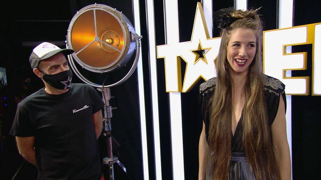 Laura ha llegado a 'Got talent' gracias a uno de los realizadores del programa