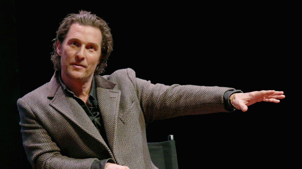 Matthew McConaughey se postula para gobernador de Texas