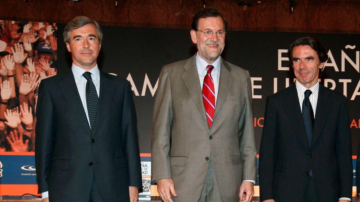 Turno para los políticos en la caja b del PP:  Acebes lo abre,  Aznar y Rajoy lo cerrarán