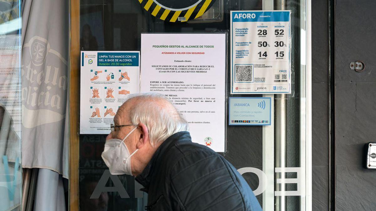 España registra a 5.348 casos, 173 muertos y la incidencia cae a 130 puntos