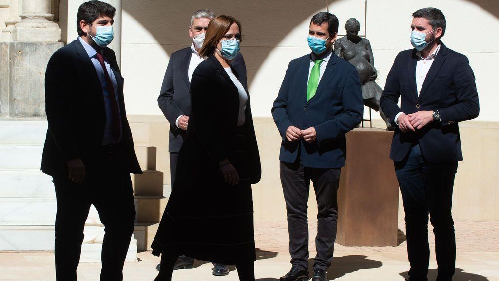 Ciudadanos abre expediente con propuesta de expulsión a los tres diputados díscolos de Murcia