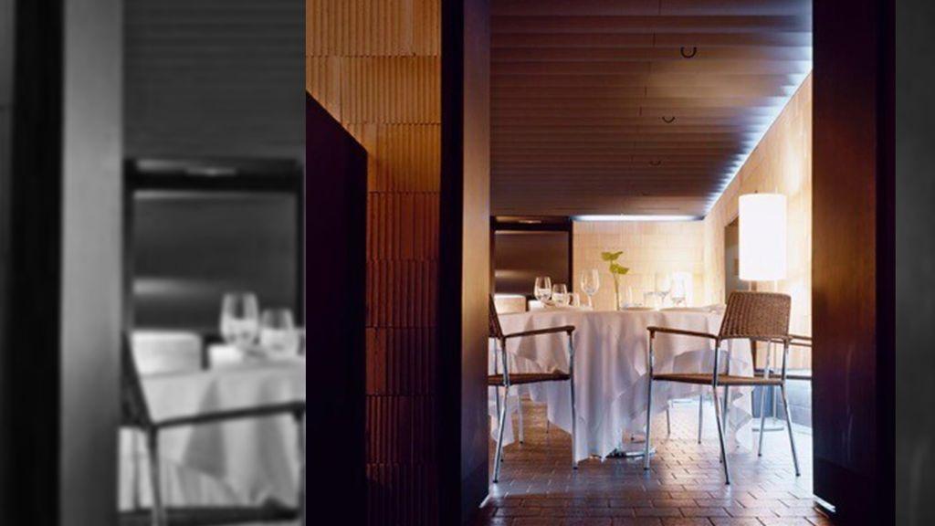 Mesas del restaurante de Sola y Arriezu