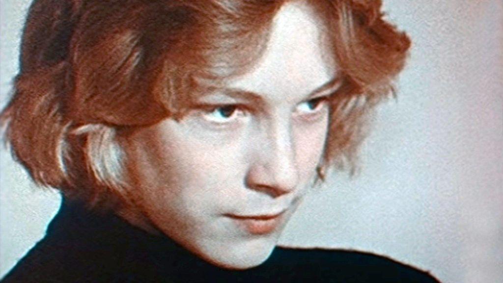 Bjorn Andresen en el casting para Tadzio (1970)