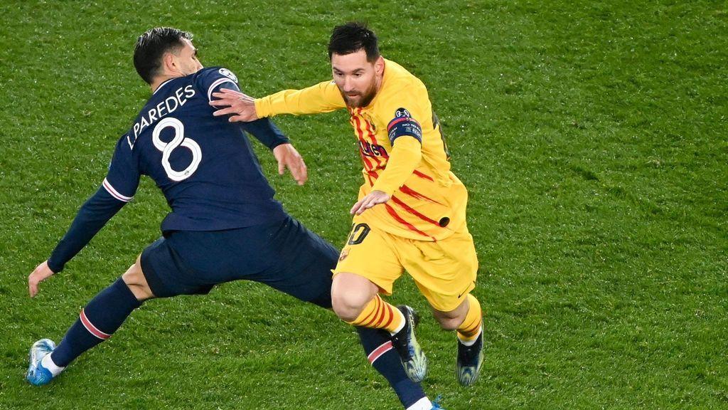 """""""Messi, la última vez como rivales"""": la conversación entre Leo y un jugadore del PSG tras el partido de Champions"""
