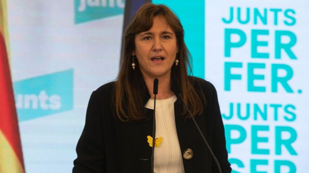 Laura Borrás, la nueva presidenta del Parlament, una 'indepe' dura investigada en el Supremo
