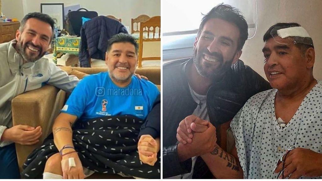 Las últimas horas de Maradona en la clínica: atado a una cama, con un alias y vigilado por cámaras