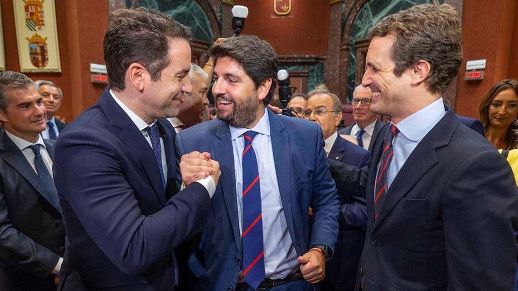 La moción de censura de Murcia revienta Ciudadanos y el resultado queda en manos de Vox