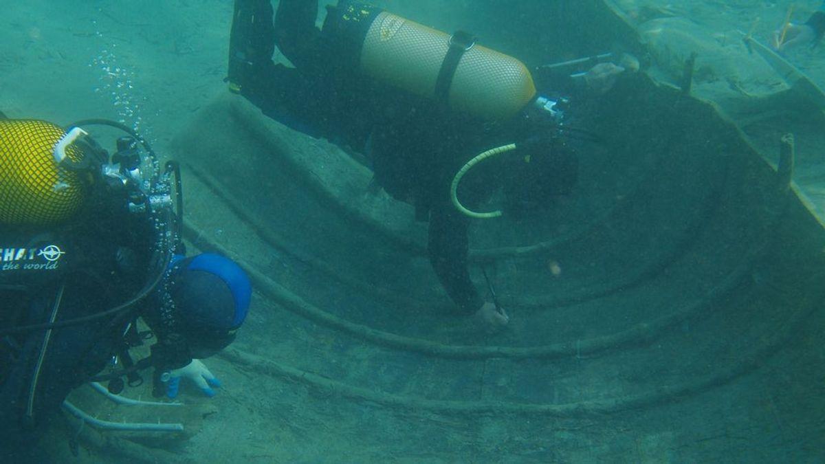 """El pecio fenicio """"Mazarrón II"""", hundido en Murcia, será sacado a flote para restaurarlo"""