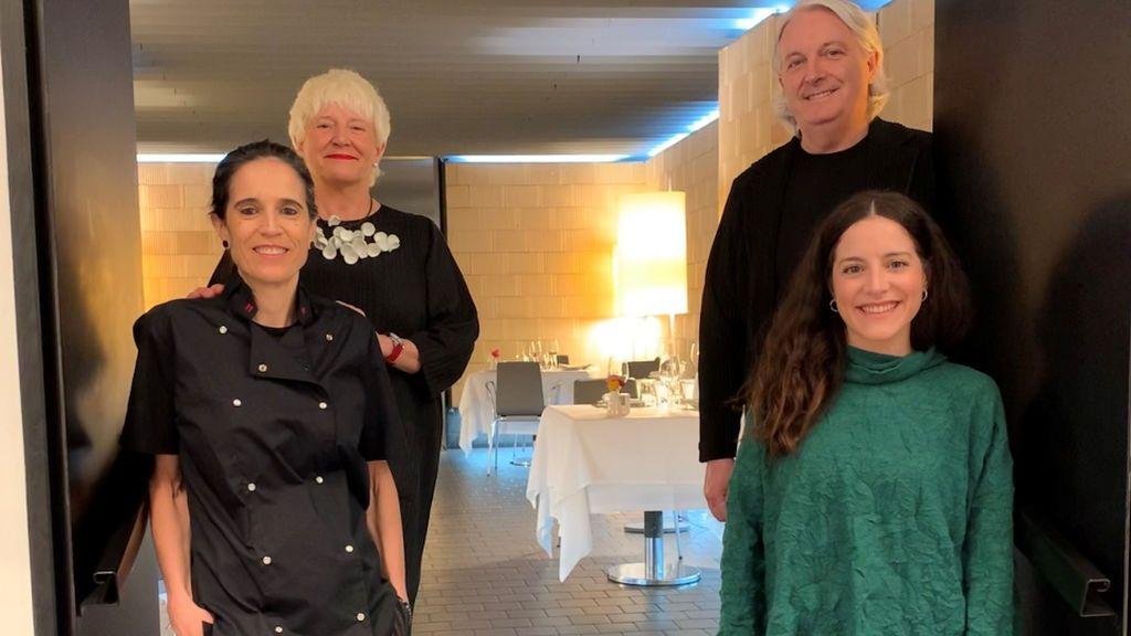 Anabel Arriezu, Juan Miguel Sola, Raquel Sánchez e Idoia Sola