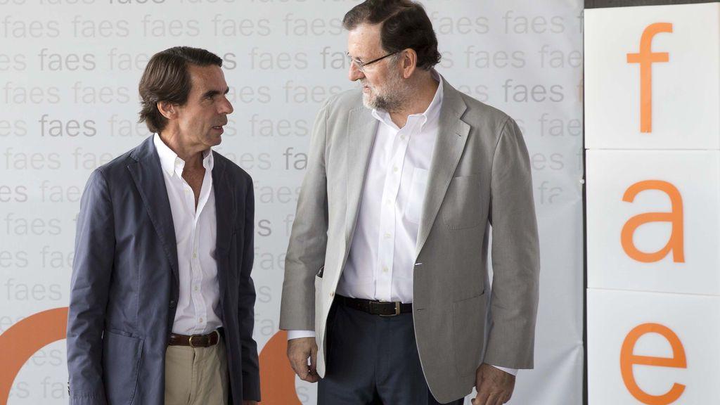 Rajoy y Aznar declararán en el juicio de la caja b del PP el 24 de marzo