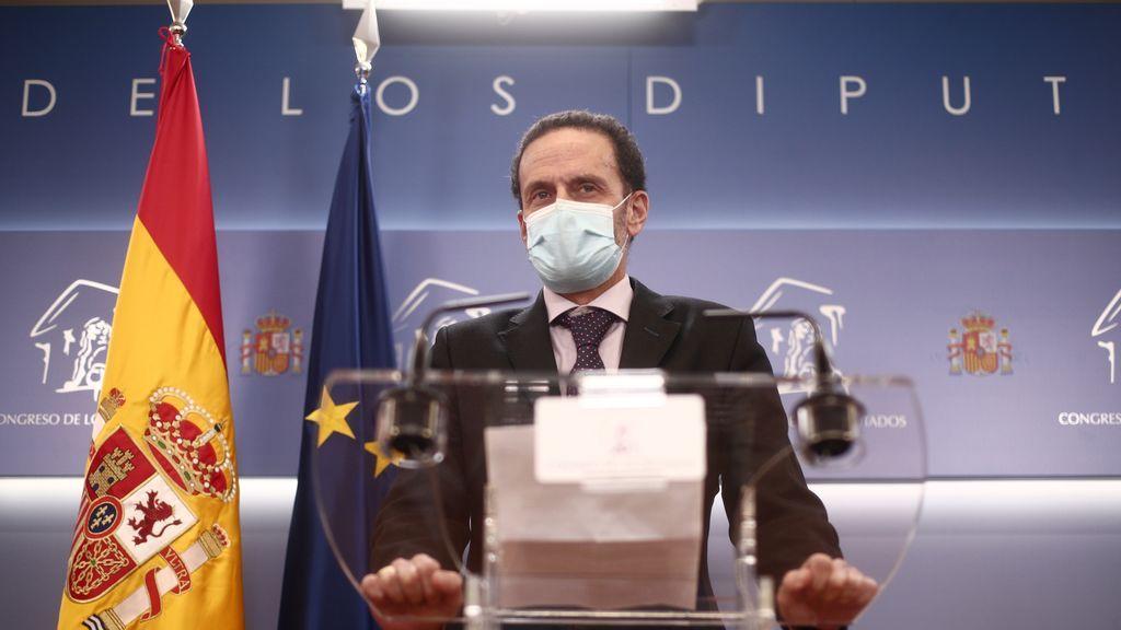 """Edmundo Bal acusa a los tres diputados disidentes de Murcia de haberse"""" vendido a la corrupción del PP"""""""