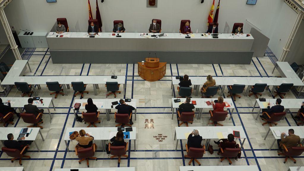 La delegación de Murcia pone protección a los diputados  de Ciudadanos