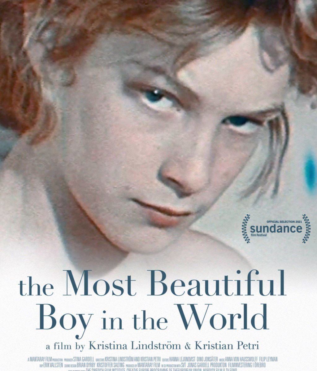 Cartel de 'The most beautiful boy in the world'