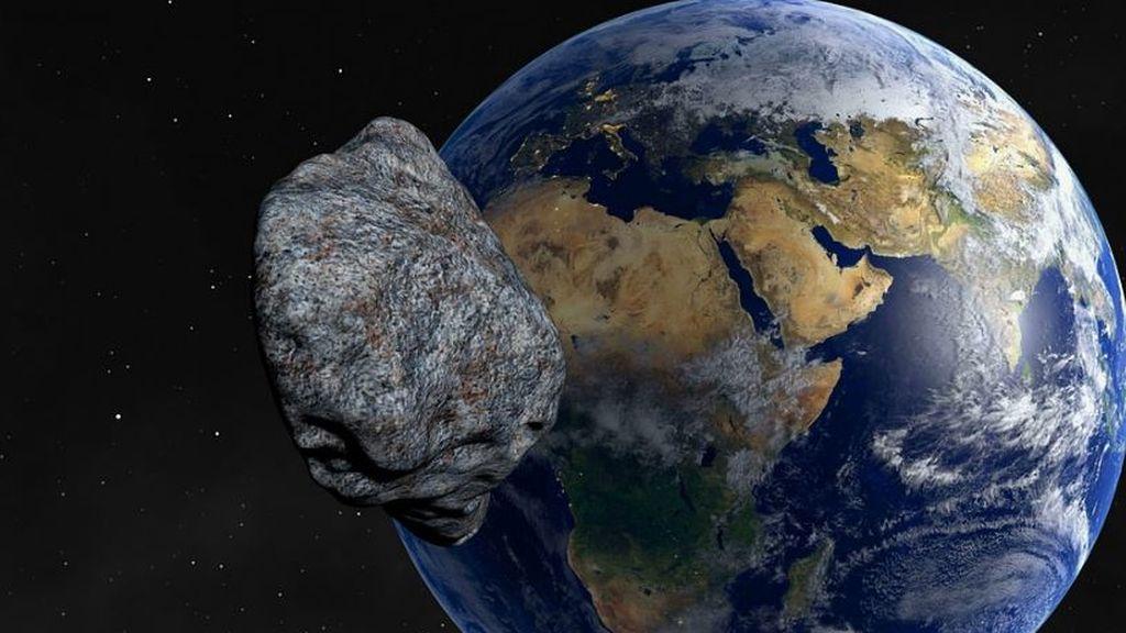 El asteroide 2001 FO32, el más grande en acercarse a la Tierra este año, está de camino
