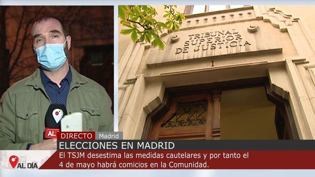 Elecciones en la Comunidad de Madrid: el TSJM avala la convocatoria del 4M