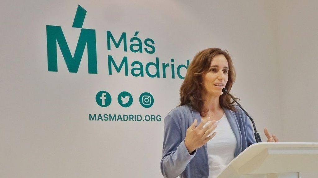 "Mónica García (Más Madrid): ""Me enfrenté al virus y me enfrentaré a Ayuso"""
