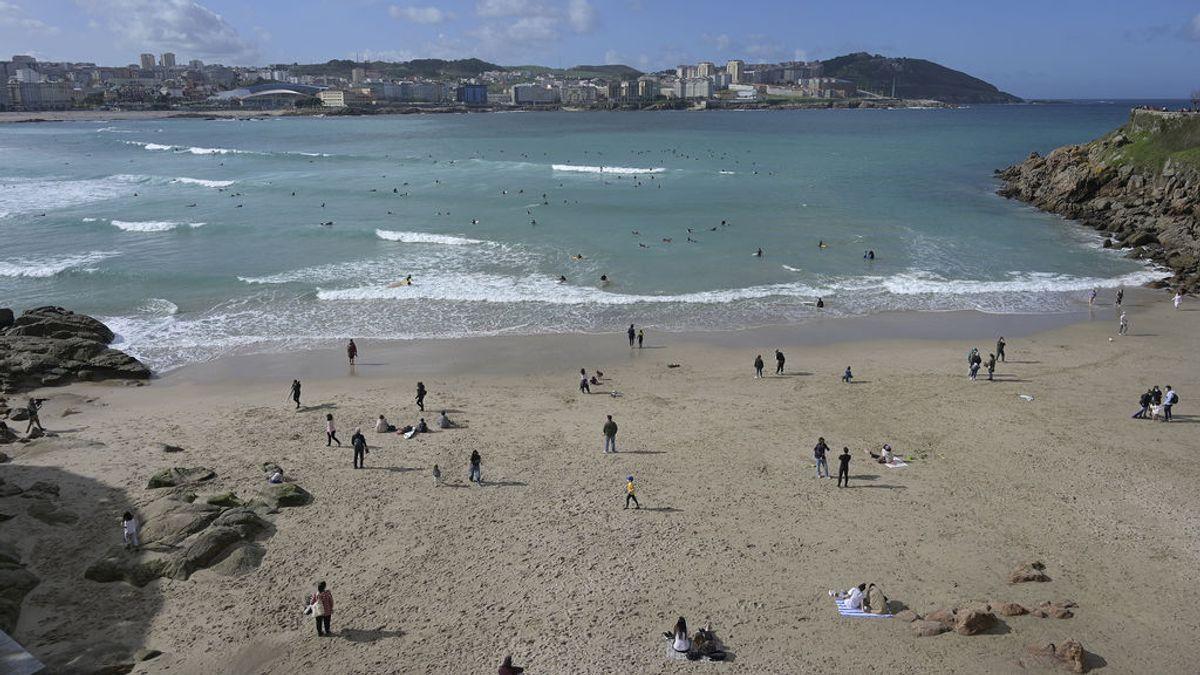 La semana empieza soleada en casi toda España y con máximas con pocos cambios