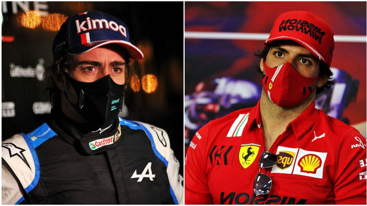 Carlos Sainz y Fernando Alonso dan motivos para creer en ellos